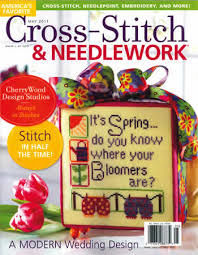 Cross-Stitch & Needlework Magazine May 2011 - product images