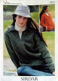 Sirdar Salsa Double Knitting Sweater Patterns no 5875 - product images