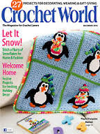 Crochet,World,December,2014,Crochet World December 2014,kg krafts,craft supplies,crochet,magazine,patterns