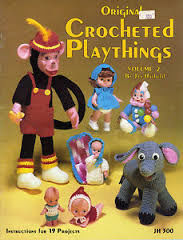Original,Crocheted,Playthings,by,Jan,Hatfield,vol,2,JH,300,Original Crocheted Playthings,jan hatfield,stuffies,stuffed animals,crochet,kg krafts