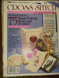 Cross Stitch and Needlepoint by Crafts Projects and Patterns Magazines - product images