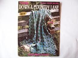 Down,A,Country,Lane,Leisure,Arts,2632,Down A Country Lane, Leisure Arts 2632,kg krafts,knit,crochet,floral afghans