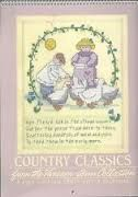 Country,Classics,from,the,Vanessa-Ann,Collection,1990,Calendar,Counted,Cross,Stitch,Country Classics from the Vanessa-Ann Collection 1990 Calendar Counted Cross Stitch,patterns,counted cross stitch charts,kg krafts