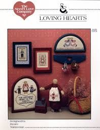 Loving Hearts by Renee Nanneman Counted Cross Stitch - product images