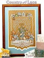 Country,and,Lace,by,Lynn,Waters,Busa,Country and Lace by Lynn Waters Busa , counted cross stitch, kg krafts,cross stitch patterns