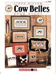 Cow,Belles,By,Linda,Gillum,book,Eight,#142,the,Kooler,Studio,Cow Belles By Linda Gillum book Eight #142 the Kooler Studio,counted cross stitch,kg krafts