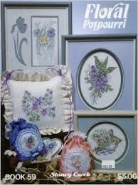 Floral,Potpourri,Book,59,Stoney,Creek,Floral Potpourri Book 59 Stoney Creek,counted cross stitch,kg krafts