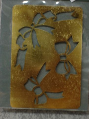 Darice,Genuine,Brass,Embossing,Stencil,Bows,1195-58,darice,brass,stencil,embossing stencil,embossing,kg krafts, card making, scrap booking