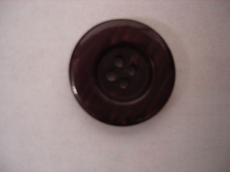 Burgundy Four Hole Buttons 50 pc package - product image