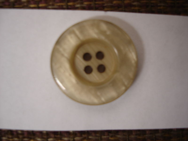 Tan Four Hole Buttons 50 pc package - product images