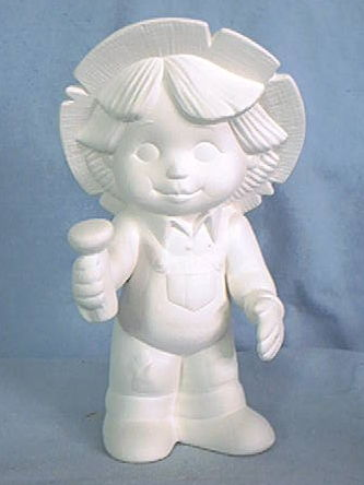 Scarecrow,Boy,7.5T,dona molds,Scarecrow Boy,ceramic bisque,bisque,ready to paint,kg krafts,painting surface
