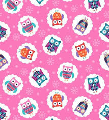 Wings-n-Things Cotton Fabric by Small Factory for Studio E Fabrics Owls - product image