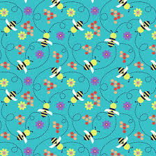 Wings-n-Things Cotton Fabric by Small Factory for Studio E Fabrics Bees - product image