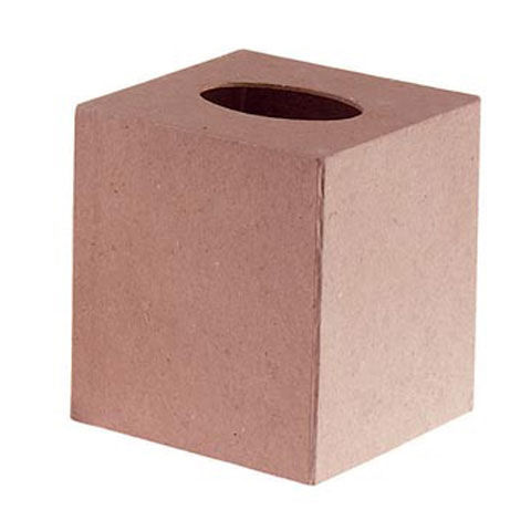 Paper Mache Boutique Tissue Box - 5 x 5 in - product images