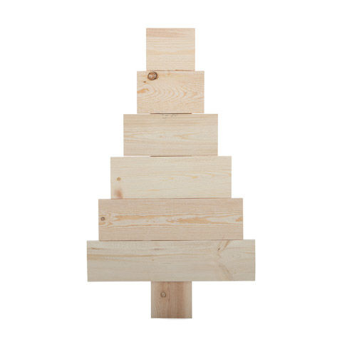 Darice DIY Pallet Christmas Tree - Wood - Unfinished - product images