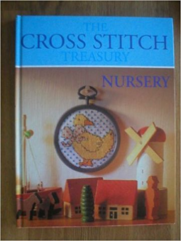 The,Cross,Stitch,Treasury,Nursery,The Cross Stitch Treasury Nursery,greenwich,Leisure Arts, Counted Cross Stitch,kg krafts,dmc,Christmas,needlework,needle arts