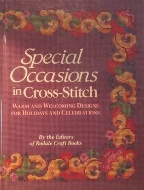 Special,Occasions,in,Cross,Stitch,by,the,Editors,of,Rodale,Craft,Books,Special Occasions in Cross Stitch,Rodale Craft Books, Counted Cross Stitch,kg krafts,dmc,Christmas,needlework,needle arts