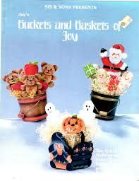 Sis,and,Sons,Presents,Buckets,Baskets,of,Joy,by,Bagshaw,Sis and Sons Presents Buckets and Baskets of Joy, Joy Bagshaw,kg krafts,cross stitch,doilies,projects,instructions,pillow,home decor,three needles, craft supplies,crafts,supplies,indie supplies
