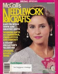 McCall's,Needlework,and,Crafts,February,1989,McCall's Needlework and Crafts February 1989,kg krafts,knit, patterns,crochet
