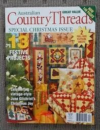 Australian,Country,Threads,Special,Christmas,Issue,vol,5,no,8,Australian Country Threads Special Christmas Issue vol 5 no 8,kg krafts,knit, patterns,crochet