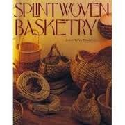 Splint,Woven,Basketry,by,Robin,Taylor,Daugherty,Splint Woven Basketry,Robin Taylor Daugherty,kg krafts, baskets, weaving,reed,patterns