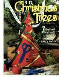 3-D,Christmas,Trees,by,Charlyne,Stewart,3-D Christmas Trees,Charlyne Stewart,kg krafts,quilting,fabric,sewing,patterns