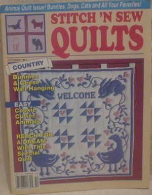 Stitch,'n,Sew,Quilts,october,1991,Stitch 'n Sew Quilts october 1991,kg krafts,quilting,fabric,sewing,patterns