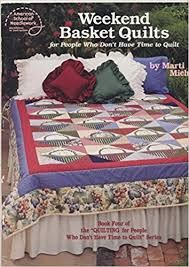 Weekend Basket Quilts by Marti Michell - product images