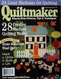 Quiltmaker,Magazine,Jan/Feb,05,no.,101,Quiltmaker Magazine ,Jan/Feb 05, no. 101,kg krafts,quilting,fabric,sewing,patterns