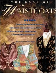 The,Book,of,Waistcoats,by,Jacqueline,Farrell,The Book of Waistcoats,Jacqueline Farrell,kg krafts,painting,craft supplies, baskets, weaving,reed,patterns