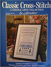 Classic,Cross-Stitch,A,Needlearts,Collection,by,Herrschners,Oct/Nov,1988,Classic Cross-Stitch A Needlearts Collection by Herrschners Oct/Nov 1988,magazine, cross stitch, classic cross stitch, needle arts,kg krafts,needle arts