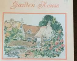 Garden,House,Dawna,Barton,Garden House, Dawna Barton, cross stitch, classic cross stitch, needle arts,kg krafts,needle arts