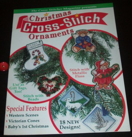 Christmas,Cross,Stitch,Ornaments,by,Stitcher,Magazine,Christmas Cross Stitch Ornaments by Cross Stitcher Magazine, cross stitch, classic cross stitch, needle arts,kg krafts,needle arts