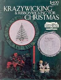 Krazywicking,and,Ribbonwicking,for,Christmas,Krazywicking and Ribbonwicking for Christmas, cross stitch, classic cross stitch, needle arts,kg krafts,needle arts