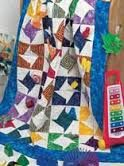 Bold,and,Bright,Kids',Quilt,by,Lucy,Fazely,Bold and Bright Kids' Quilt by Lucy Fazely, cross stitch, classic cross stitch, needle arts,kg krafts,needle arts,quilting