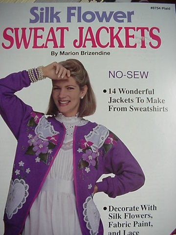 Silk,Flower,Sweat,Jackets,by,Marion,Brizendine,Silk Flower Sweat jackets by Marion Brizendine ,vintage,crochet, pat thom, love me dolls,kg krafts,yarn dolls, craft supplies,crafts,supplies,indie supplies