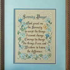 Serenity Prayer by Terrie Lee Steinmeyer for Leisure Arts   leaflet 445 - product images