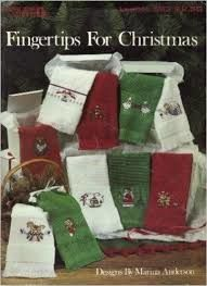 Fingertips,for,Christmas,designs,by,Marina,Anderson,Fingertips for Christmas designs by Marina Anderson,vintage,crochet, pat thom, love me dolls,kg krafts,yarn dolls, craft supplies,crafts,supplies,indie supplies