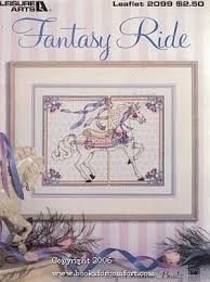 Fantasy RIde by Barbara Baatz Leisure Arts  leaflet 2099 - product images
