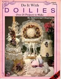 Do,it,With,Doilies,by,Jackie,and,April,Stephens,Do it With Doilies by Jackie and April Stephens, kg krafts,yarn dolls, craft supplies,crafts,supplies,indie supplies