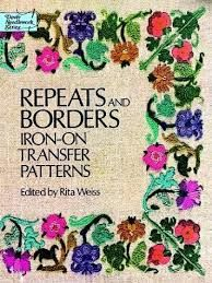 Repeats,and,Borders,Iron,On,Transfer,Patterns,by,Rits,Weiss,Repeats and Borders Iron On Transfer Patterns by Rits Weiss, kg krafts,yarn dolls, craft supplies,crafts,supplies,indie supplies