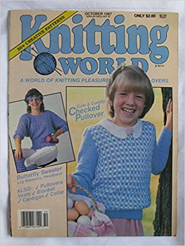 Knitting World October 1987 - product images