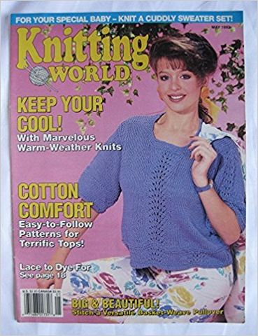 Knitting,World,May,1992,Knitting World May 1992,kg krafts,knitting,crochet,patterns