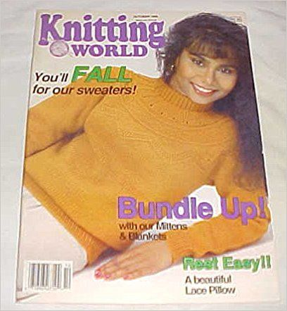 Knitting World October 1989 - product images