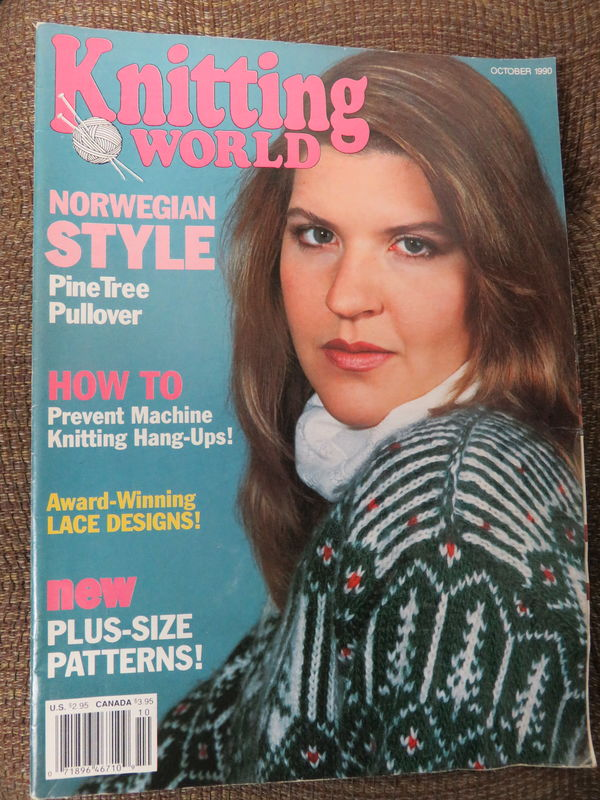 Knitting World October 1990 - product images