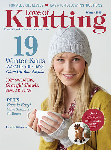 Love of Knitting Winter 2015  - product images