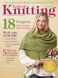 Love of Knitting Spring 2016 - product images