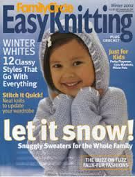Easy Knitting  Family Circle Winter 2002 - product images