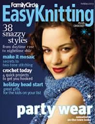 Easy,Knitting,Family,Circle,Holiday,2003,Easy Knitting  Family Circle Holiday 2003, patterns, knits, crochet, instructions