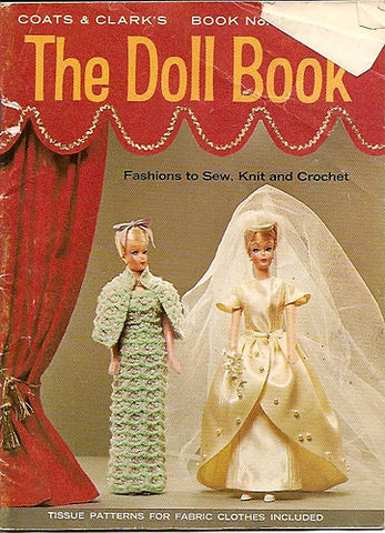 Coats,and,Clark,book,173,The,Doll,Book,Coats and Clark book 173 The Doll Book,crochet,knit,magazine,kg krafts,sewing, crafts,supplies